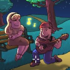Jeu MUSICIEN ROMANTIQUE 7 DIFFÉRENCES