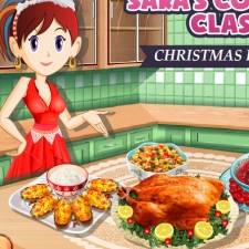 Jeu repas de no l cuisine de sara gratuit sur wikigame - Jeux de cuisine en ligne gratuit ...