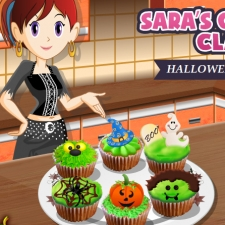 jeu gateau halloween cuisine de sara gratuit sur wikigame. Black Bedroom Furniture Sets. Home Design Ideas