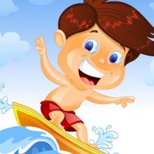 Jeu SURF SUR VAGUE GÉANTE
